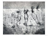 Wall Drawing of Legs  c1530