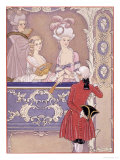 Women in a Theater Box  Illustration from Les Liaisons Dangereuses by Pierre Choderlos de Laclos