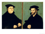 Double Portrait of Martin Luther