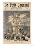 The Golden Calf  from Le Petit Journal  31st December 1892