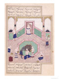 Turkish Bath  from Khusrau and Shirin by Elyas Nezami