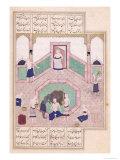 Turkish Bath  from Khusrau and Shirin by Elyas Nezami