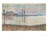 Study For 'The Channel at Gravelines, Evening', 1890 Giclée par Georges Seurat