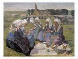Women of Plougastel at the Pardon of Notre-Dame de La Palud  1903
