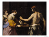 Salome Receiving the Head of St John the Baptist  1637