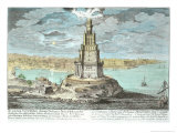 Lighthouse at Alexandria  Built by Ptolemy the Great