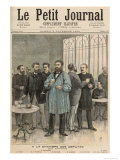 The Chamber of Deputies: The Refreshment Room  from Le Petit Journal  5th November 1892