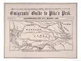 Emigrant's Guide to Pike's Peak  1859