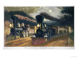 The Lightning Express Trains  1864