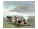 Comanche Feats of Martial Horsemanship  1834