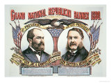 Campaign Poster For Presidential Candidate James A Garfield
