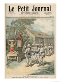 Kana Fetishes in Dahomey  from Le Petit Journal  26th November 1892