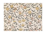 Pomegranate  Design For Wallpaper  Morris William