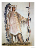 Mato-Tope  Second Chief of the Mandan People in 1833
