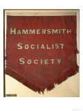 Banner of the Hammersmith Socialist Society