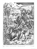 Samson Slaying the Lion  c1496-98