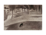 Study For Sunday Afternoon on the Island of La Grande Jatte  c1884