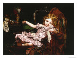 Young Girl in an Armchair  c1850