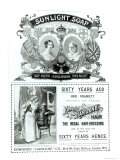 Sunlight Soap Advertisement  from The Illustrated London News Diamond Jubilee Number  1897