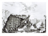 Tower of San Roque  Lisbon After the Earthquake of 1755