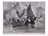 Attack on the Chinese Junks in 1841