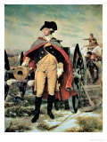 George Washington at Dorchester Heights  Massachusetts
