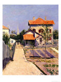 The Artist&#39;s House at Yerres  c1882