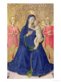 The Bosco Ai Frati Altarpiece: The Virgin and Child Enthroned with Two Angels  1452