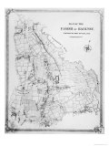 Map of the Parish of Hackney  Surveyed by John Rocque
