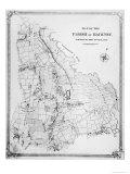 Map of the Parish of Hackney  Surveyed by John Rocque
