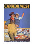 Poster Promoting Immigration to Canada  1925