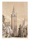 The Giralda  Seville  from Picturesque Sketches in Spain  c1832-33