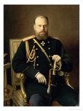 Portrait of Emperor Alexander III
