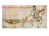 William Marsh Being Dragged to His Execution in 1240