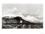 Mount Sarmiento  Engraved by Thomas Landseer