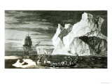 The Ice Islands on the 9th January 1773