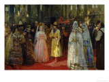 The Tsar Choosing a Bride  c1886