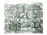 The Battle of Cajamarca  1532