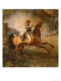 The Battle of Marengo  Detail of Napoleon Bonaparte