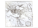 Map of the Eastern Part of the Roman Empire  c1808