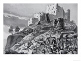 Welsh Attack on Montgomery Castle in 1095 Led by Cadwgan Ap Bleddyn  The History of the Nation