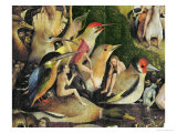 The Garden of Earthly Delights  c1500