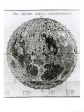 Surface of the Moon  Selenotopographische Fragmente by Schroeter  c1791