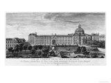 View of Hopital Royal de La Salpetriere  Known as Hopital General  Paris