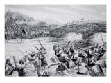 The Battle of Maldon  991  Illustration from the Book The History of the Nation
