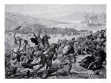 The Great Battle of Brunanburgh  937  Illustration from the Book The History of the Nation
