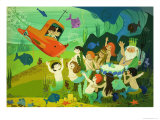 Modern Fairy Tale: Submarine and Mermaids
