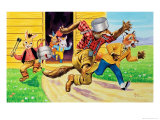 Brer Rabbit  Friends and Saucepans