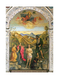 Baptism of Christ  St John Altarpiece
