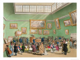 Christie's Auction Room  Aquatinted by J Bluck